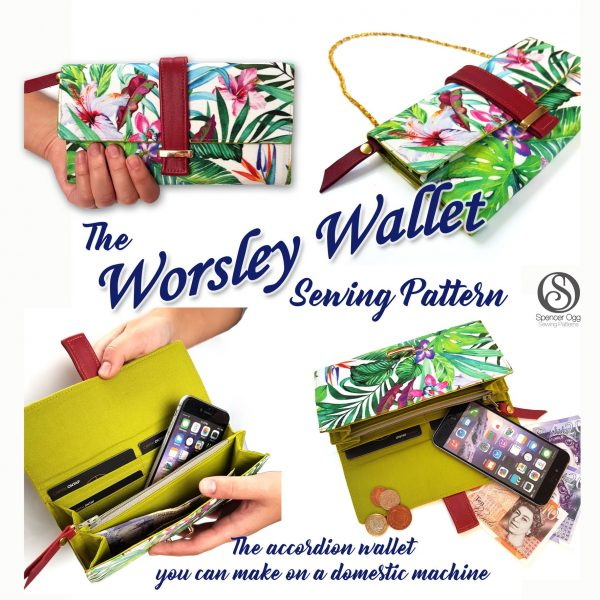 Worsley Wallet PDF Pattern