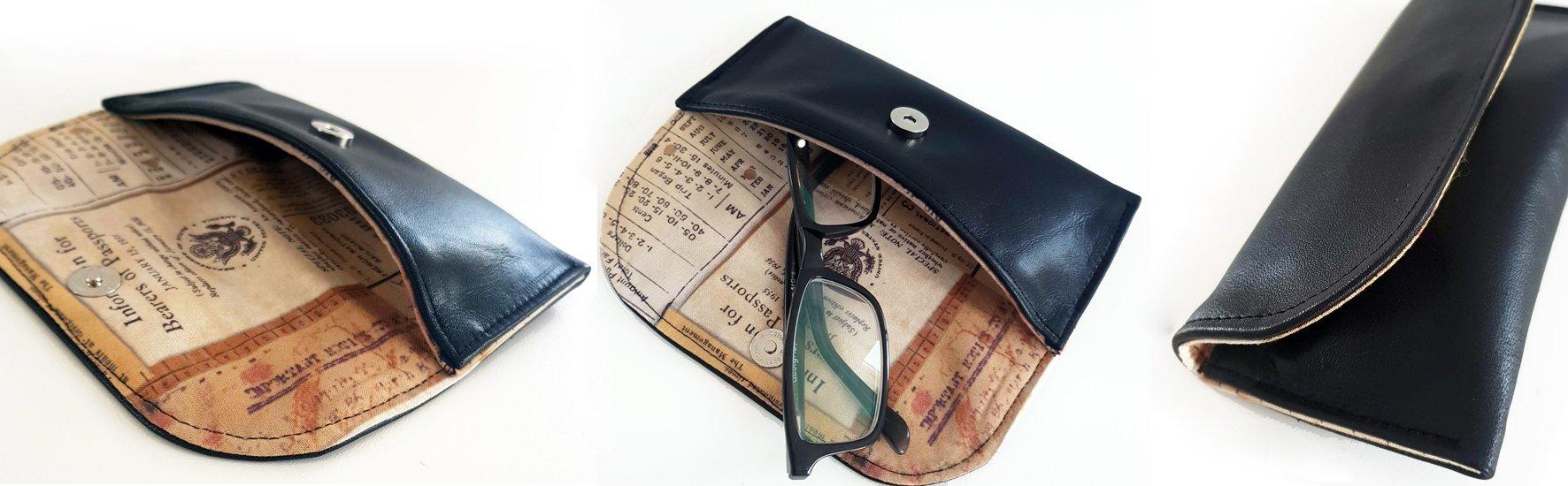 free glasses case pattern